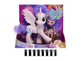 Набір Поні з лялькою (музика зі світлом ) 21х13,5х5см LFJ850 ТМ ABTOYS