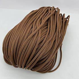 Полипропиленовый шнур без сердечника 4 мм 100 м (шоколад)127