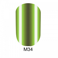 Гель-лак Naomi Metallic Collection M34, 6 мл