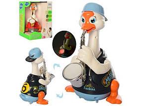 Музична іграшка 6111 гусь22см,муз-пісня,танц 18-26-18см 66897 ТМ SPTOYS