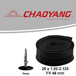 Камера CHAOYANG 26 х 1.95-2.125 FV 48 мм