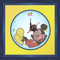 """Схема вышивки бисером """"Часы """"Микки Маус"""""""