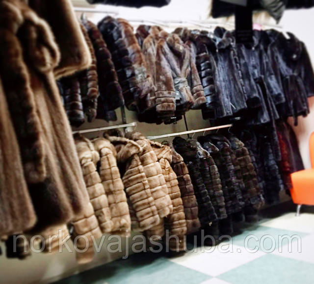 норковые шубы в магазинах Харькова