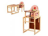 Детский стульчик для кормления 2 в 1 Vivast V-001-1