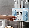 Автоматичний диспансер для зубної пасти 4 в 1 / Утримувач для зубної щітки, фото 2