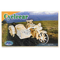 """Sea-Land"" Мотоцикл с коляской P124 6 пластин"