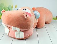 Мягкая игрушка Бегемот, 70 см., фото 1