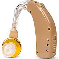 Слуховой аппарат аккумуляторный Axon C-108 с зарядным устройством Усилитель Слуха Звука