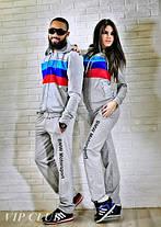Мужской спортивный костюм BMW на молнии с капюшоном, фото 2