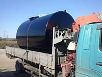 Резервуары горизонтальные стальные для нефтепродуктов