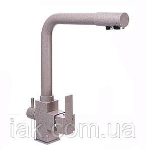 Змішувач для кухні під осмос Globus Lux GLLR-0100-5-TERRA