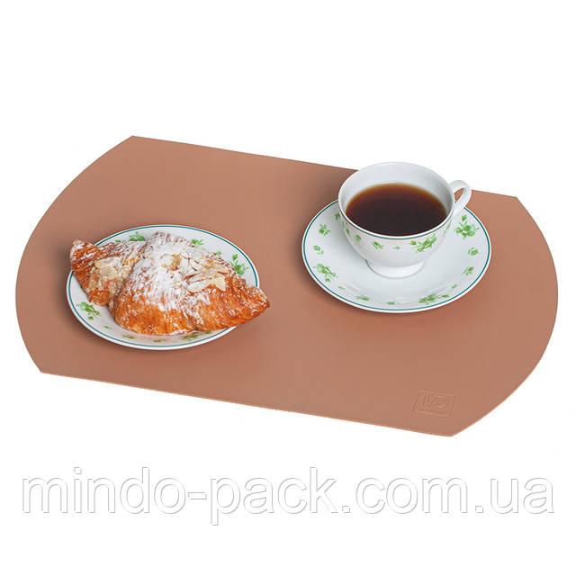кожаные накладки на столы с нанесением лого