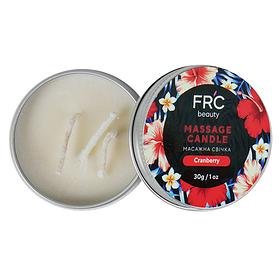 Массажная свеча для рук FRC Beauty - Cranberry, 30g