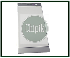 Стекло для переклейки дисплея Sony Xperia XA2 H3113, H4113, серебро
