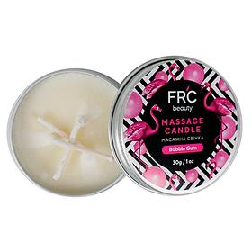 Массажная свеча для рук FRC Beauty - Bubble Gum, 30g
