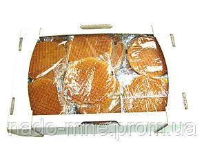 Вафли Голландские Карамельные, Салекс Абсолют, упаковка 1.7 кг.