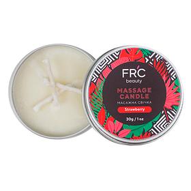 Массажная свеча для рук FRC Beauty - Strawberry, 30g