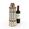 Пам'ятна коробка з дерева для пляшки вина, фото 4