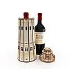 Пам'ятна коробка з дерева для пляшки вина, фото 5