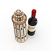 Пам'ятна коробка з дерева для пляшки вина, фото 3