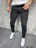Джинси - Чоловічі трендові джинси чорні / чоловічі трендові джинси чорні, фото 2