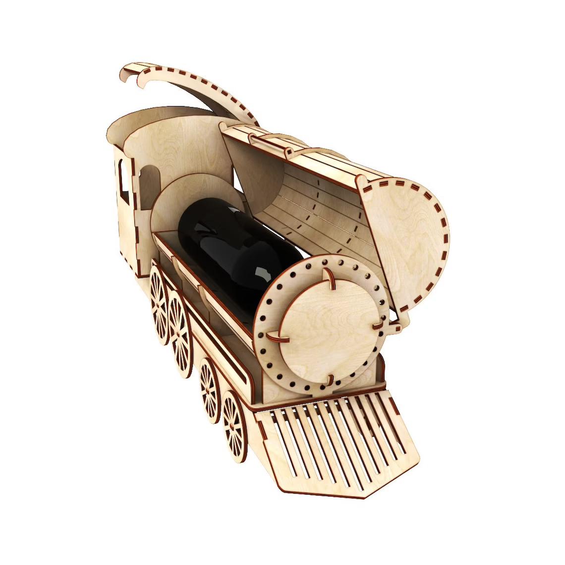 Виробництво подарункових коробок пеналів для вина з фанери