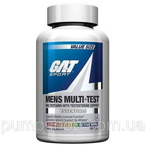 Вітаміни для чоловіків GAT Mens Multi+Test 150 таб.