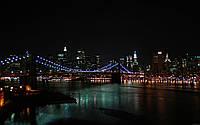 """Картина на стекле """"Night in the city"""""""