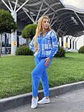 Жіночий спортивний в'язаний костюм двійка, (Туреччина); Розміри:універсальний (44-46-48);3 кольори на фото., фото 3