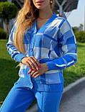 Жіночий спортивний в'язаний костюм двійка, (Туреччина); Розміри:універсальний (44-46-48);3 кольори на фото., фото 4