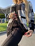 Жіночий спортивний в'язаний костюм двійка, (Туреччина); Розміри:універсальний (44-46-48);3 кольори на фото., фото 6