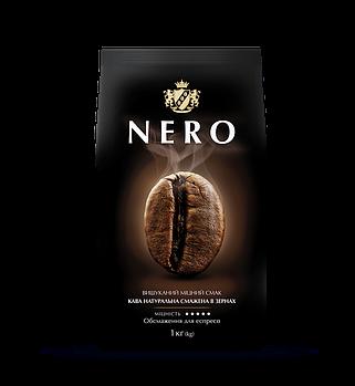 Кава в зернах Ambassador Nero, пакет 1000г