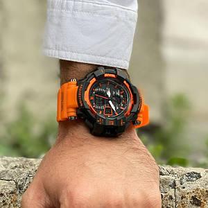 Наручний годинник Casio G-Shock GW-A1100 Orange-Black