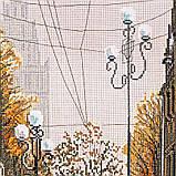 """Набір для вишивки нитками на канві з фоновим зображенням """"Після дощу"""", фото 5"""