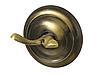 Крючок двойной, цвет бронза