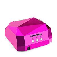 LED CCFL лампа для гель-лаков (розовая)