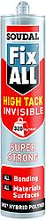 Клей-герметик Fix All High Tack білий, 290 мл