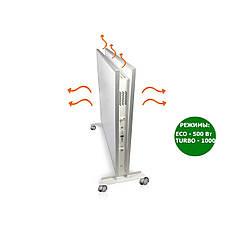 Керамический обогреватель с конвекцией ECOTEPLO DUO 1000 МЕ (Белый мрамор), фото 2