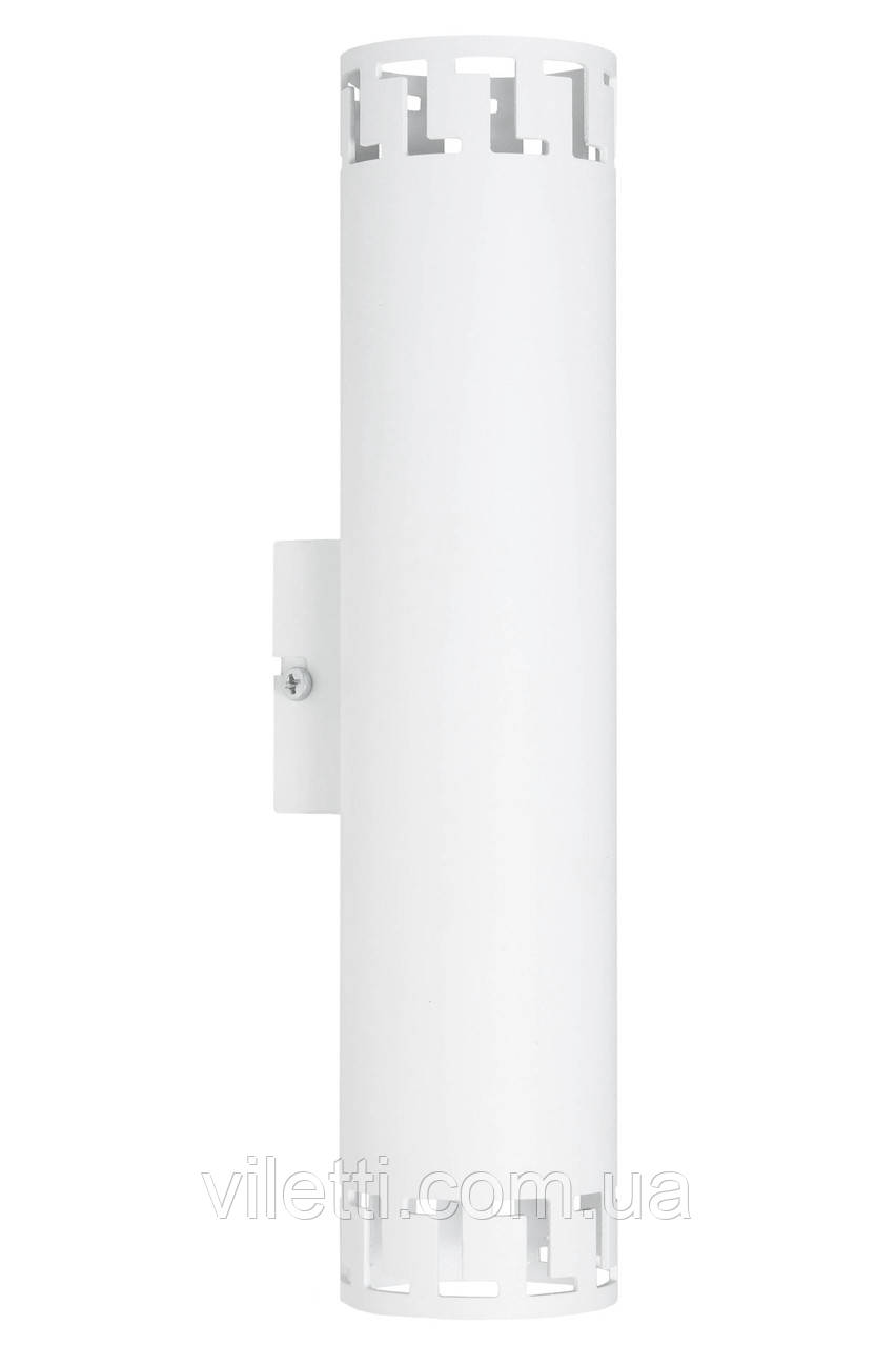Светильник настенный MSK Electric Greece бра под две лампы NL 2440 WH
