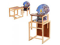 Стульчик для кормления деревянный VIVAST V-002-4
