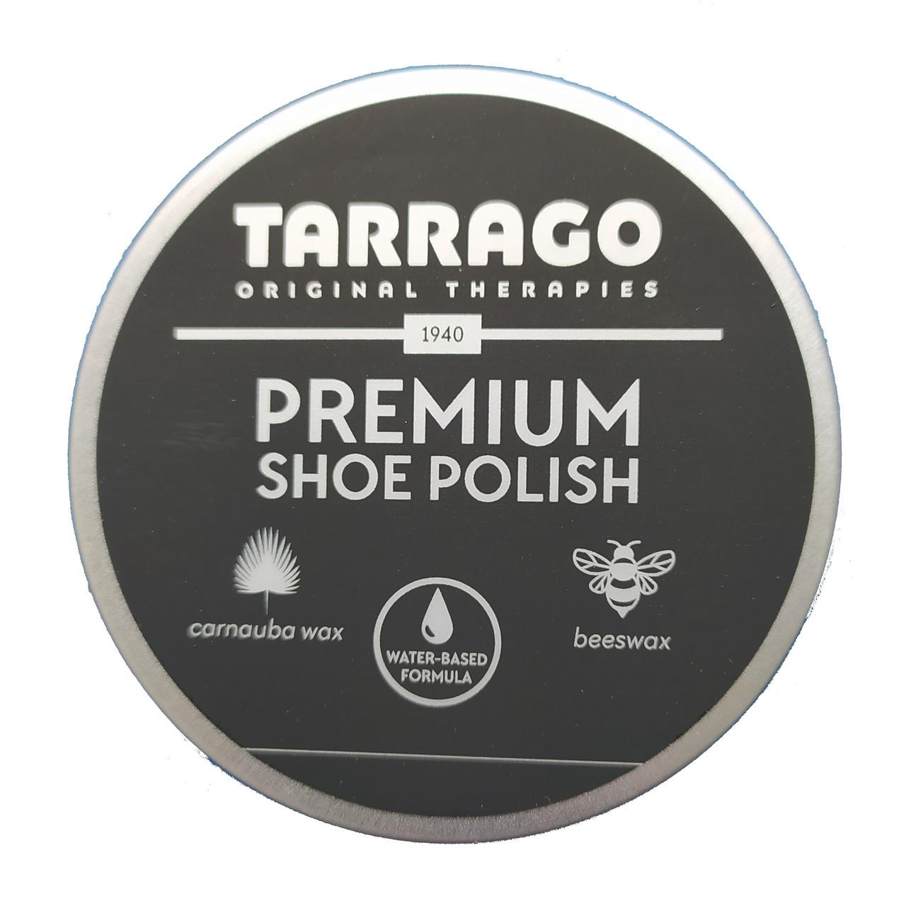 Крем-паста для обуви Tarrago Premium Shoe Polish 50 ml