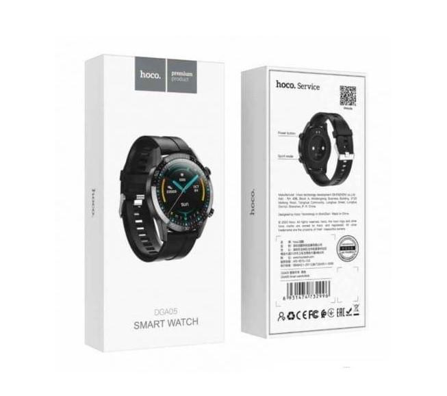 Смарт годинник Hoco DGA05 (чорний)