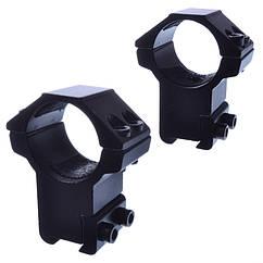 Кріплення на зброю для оптичного прицілу, роздільне GM-011 (2x25mm), глухе