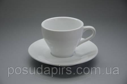 """Чашка з блюдцем """"paula""""(70мл) F2534+F2535"""