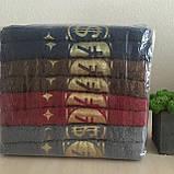 Махрові рушники банні Мані яскраві 140х70 см (440г\м2), фото 3