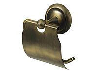 Держатель туалетной бумаги, цвет бронза
