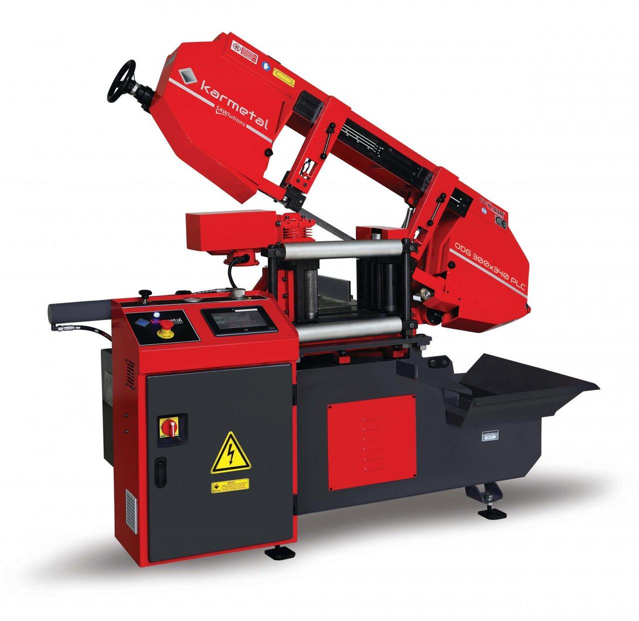 Автоматична стрічкова пила по металу Karmetal ODG 300x340 PLC