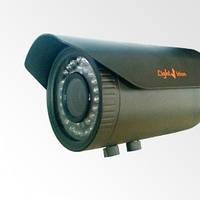 VLC-8192WFT HD-TVI уличная цилиндрическая видеокамера c вариофокальным объективом.