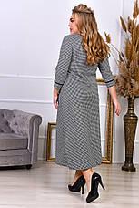 Трапециевидное платье для полных женщин, фото 3