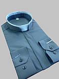 Римо-католицька сорочка сірого кольору, фото 4